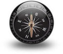 Image of compass for School Locator App.