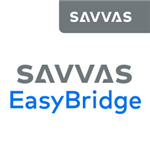Logo for Savvas Easy Bridge with hyperlink to webpage.