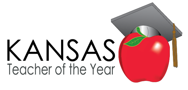 Logo for Kansas Teacher of the Year progam