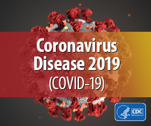 Graphic from the CDC for COVID-19